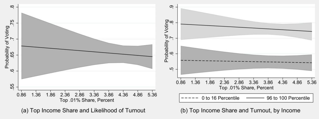 Figure 4.4: Turnout Effects of Economic Inequality